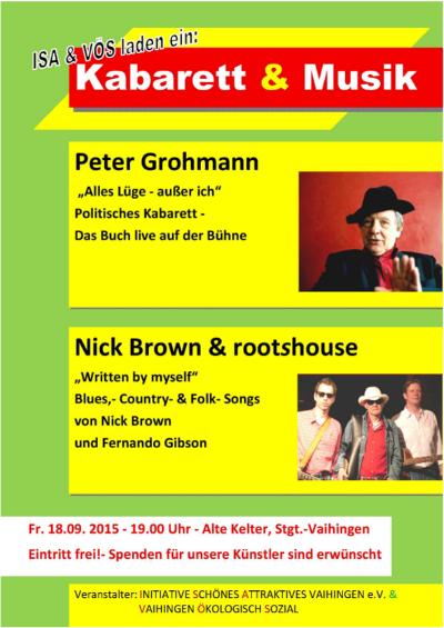 Kabarett und Musik Plakat-nup